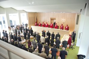 German Constitutional court reaching a decision